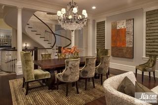 2012最新欧式田园风格复式楼客厅装修效果图装修效果图