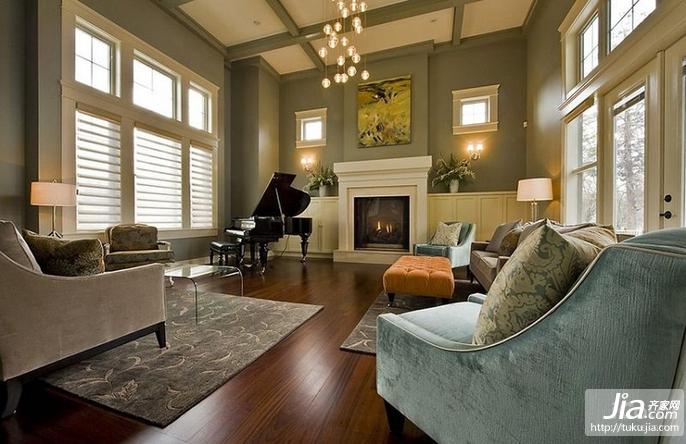 三室两厅欧式风格客厅装修效果图大全2012图片装修图片