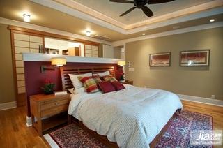 80㎡现代简约小户型卧室装修效果图大全2012装修图片