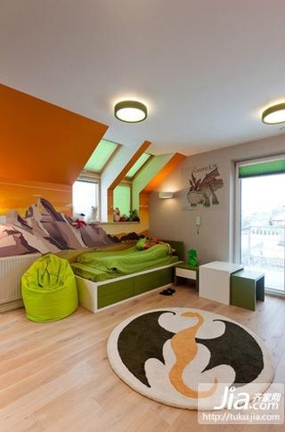 17万打造清新简欧风格二居装修效果图大全2012图片装修图片