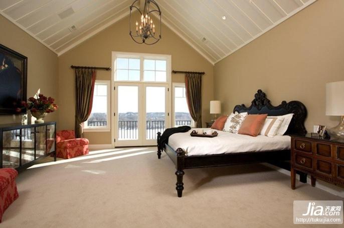 简约风格婚房卧室装修装修效果图-装修效果图案例 2017年装修效果图