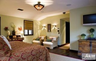 新中式_三室两厅简装效果图装修效果图