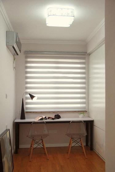 简约风格三居室浪漫130平米设计图