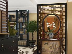 画龙点睛之笔 18个中式玄关柜设计