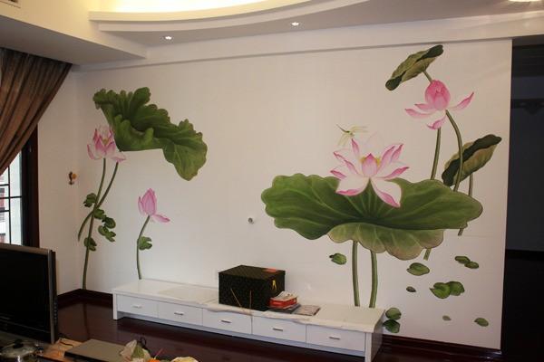 中式风格古典手绘墙装修效果图-您正在访问第2页 装修效果图案例