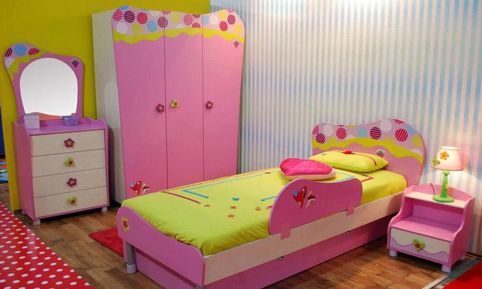 美式风格时尚儿童床图片