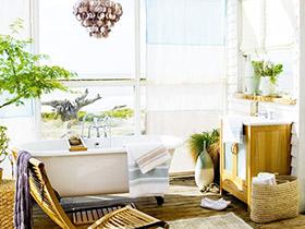 多風格窗簾集錦 12款衛浴窗簾圖片