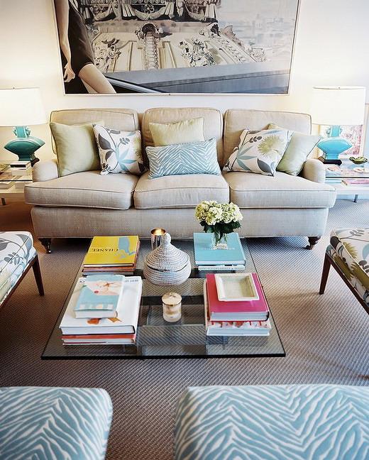 美式风格灰色沙发背景墙效果图