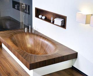舒适卫生间浴缸图片