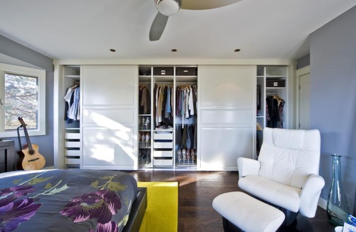 简约风格舒适衣柜安装图