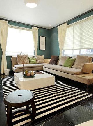 简约风格时尚沙发旧房改造平面图