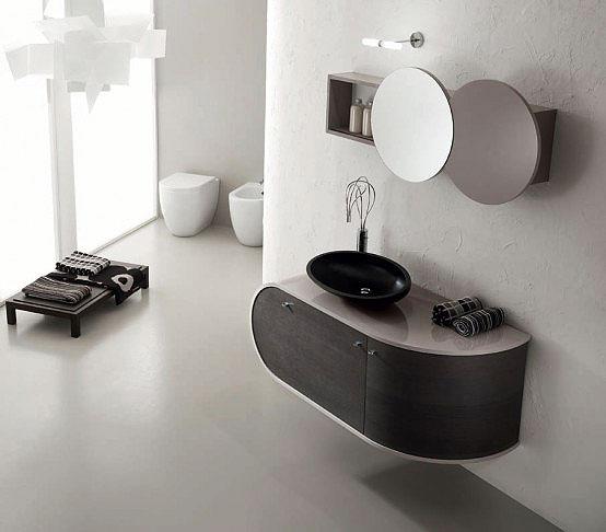 现代简约风格卫生间浴室柜效果图