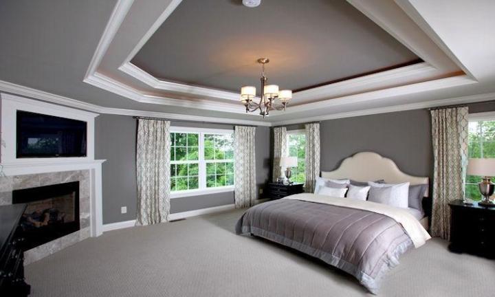 欧式风格舒适床头软包设计图纸图片