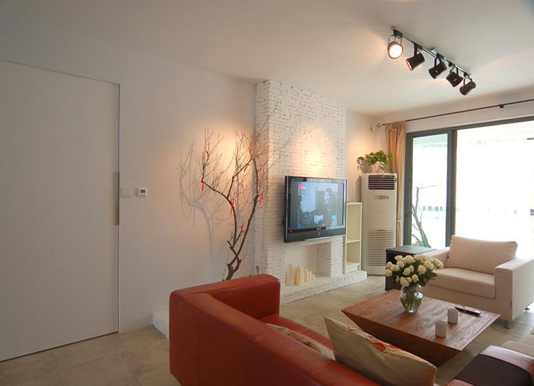 简约风格二居室简洁装修效果图