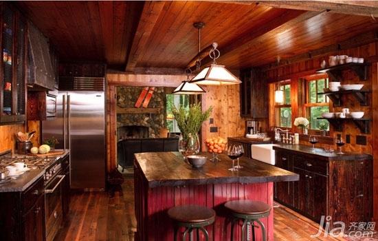 梦寐以求的古朴 8款田园乡村厨房