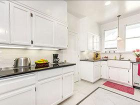 15张白色橱柜设计图 打造素色厨房