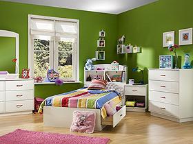保持房间整洁 16款收纳儿童床设计