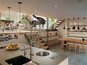 簡潔高貴 167平原木清新別墅案例設計
