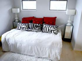 温馨宜家风 16款卧室背景墙效果图