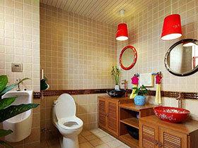 洗手也要个性 19张特色洗手台效果图