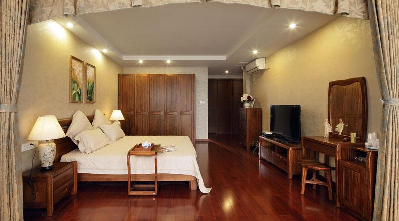 中式风格别墅奢华装修图片