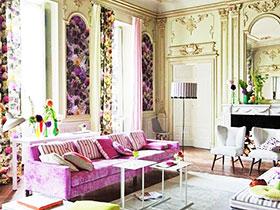 歐式客廳新方案 15款雅致窗簾效果圖