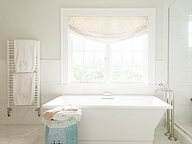 最爱美式style 16图卫浴挂件打造温馨美式