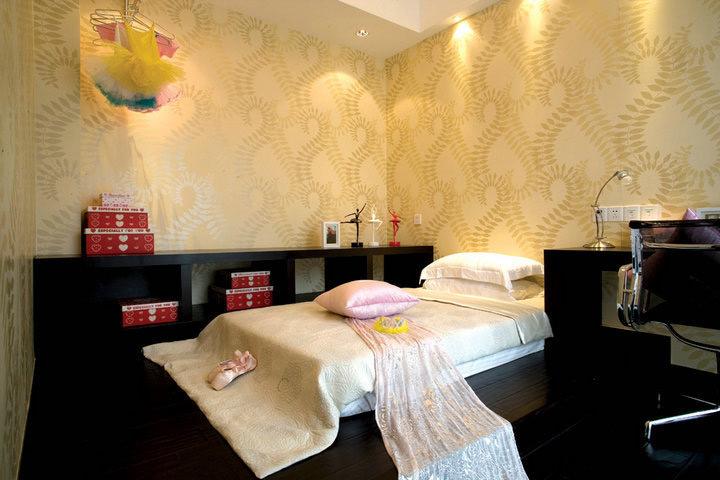 新中式风格别墅奢华卧室效果图