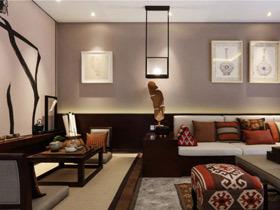 优雅东南亚公寓装修 体验低调的奢华