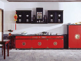 开放式厨房设计 14张一字型橱柜设计图