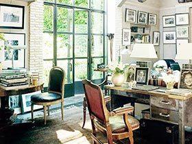 21款照片墙图片 丰富书房空间