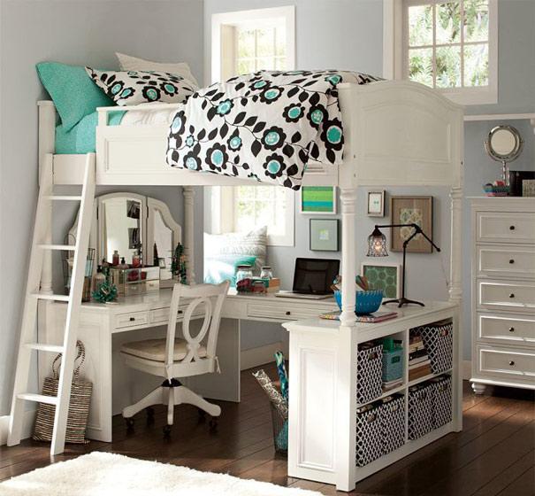 简约风格简洁儿童床效果图