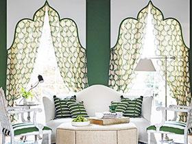 简欧窗帘图片 18款小清新设计
