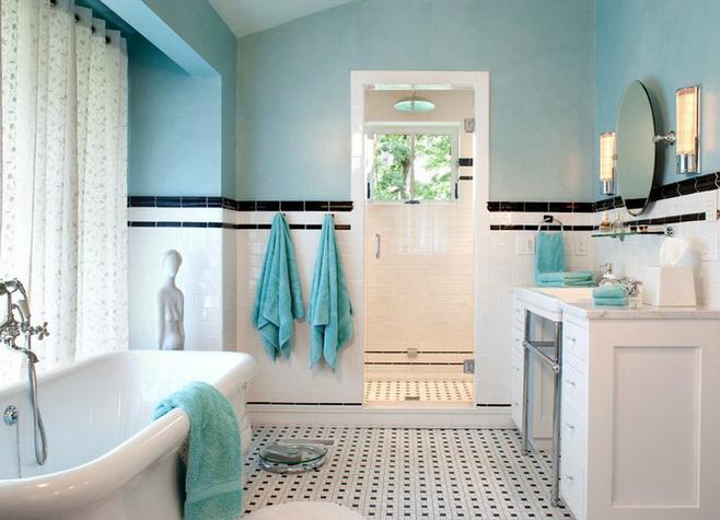 小清新白色卫生间改造