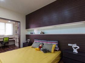 自然元素设计 18款实木卧室背景墙图