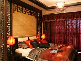 端庄含蓄中国风 19款中式卧室背景墙设计