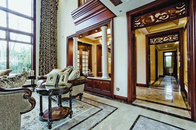 美式风格别墅奢华设计图