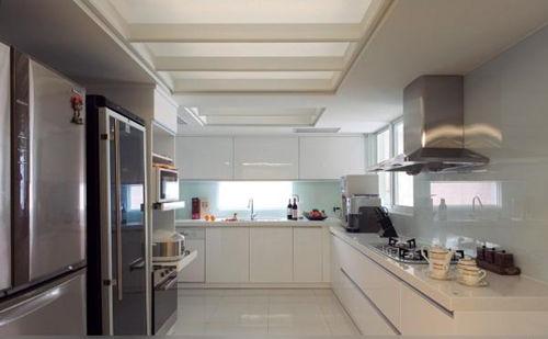 开放式厨房要安装厨房吊顶吗图片