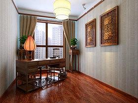 复古中式风 19张中式书桌设计图