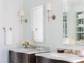 卓越的环境表现力 17款美式卫浴挂件设计