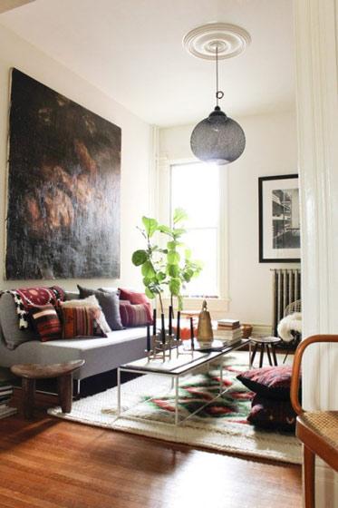 简约风格实用客厅装修效果图