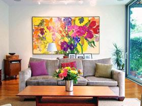 提升家居品味 16款油画装饰画效果图