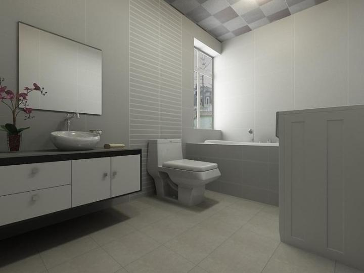 中式风格大气卫生间效果图图片