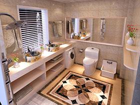 装点素雅卫浴间 14张白色洗手台图片