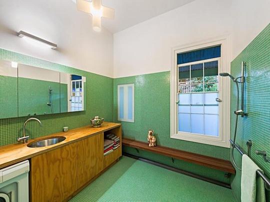 小清新绿色卫生间装修效果图