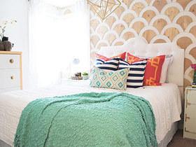让生活更贴心 16款欧式床头软包效果图