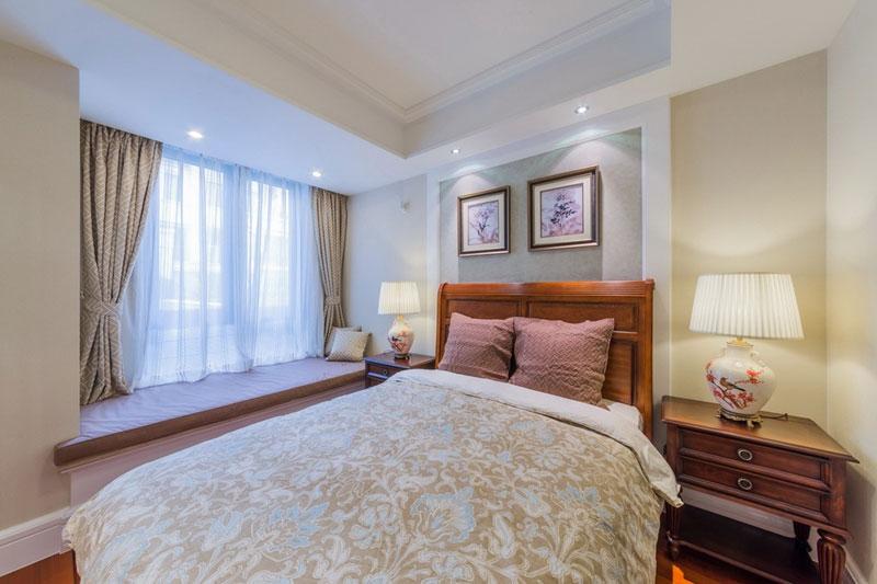 美式风格别墅艺术卧室效果图