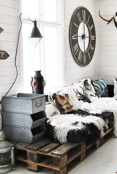简约风格大气沙发效果图