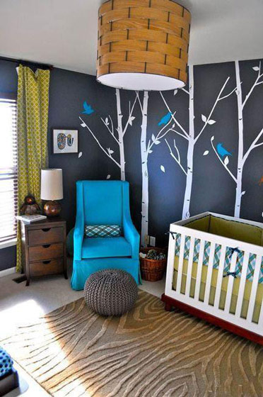 家装手绘墙效果图