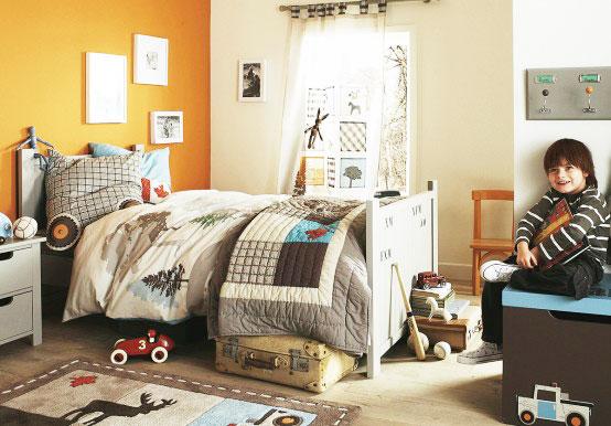 可爱儿童房窗帘效果图